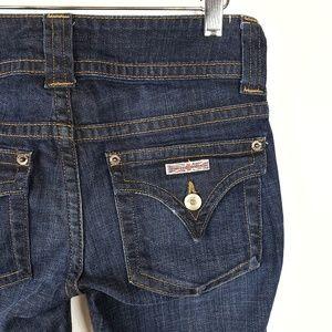 NWT Hudson | Flap Pocket Dark Wash Rive Jeans 25